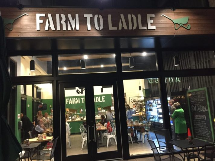 Farm to Ladle outside