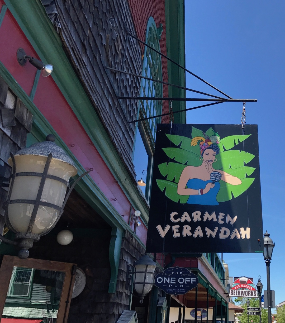 Carmen Veranda Bar Harbor ME Murray