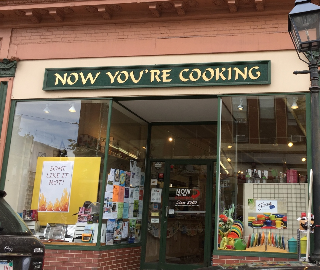 Now You're Cooking Lynne Segall Bath Maine